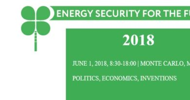 UNMISSABLE FORUM IN MONACO: ENERGY SECURITY FOR THE FUTURE